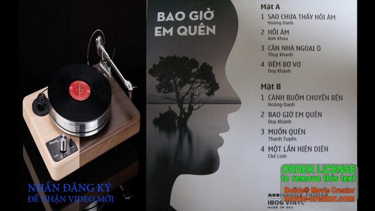 Pre 75 Nhạc Đĩa Than Gốc Chuyển Sang WAV. CD Gốc. lossless. Nhạc hi end.  Part 2