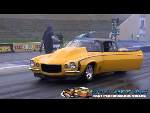 1972 Camaro Drag Racing Doovi
