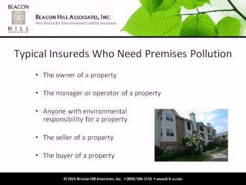 Webinar: Environmental Insurance for Sites & Facilities
