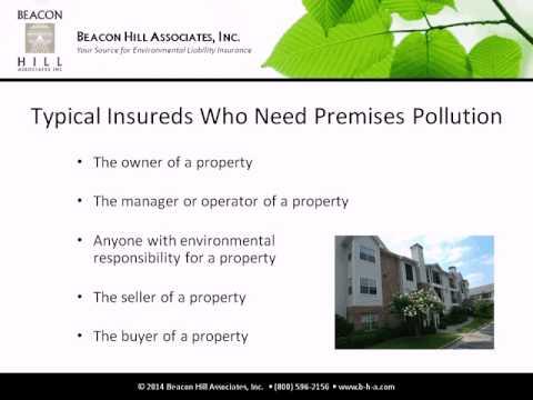 Webinar: Environmental Insurance for Sites & Facilities