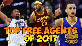 Top nba free agents 2017 - 2018