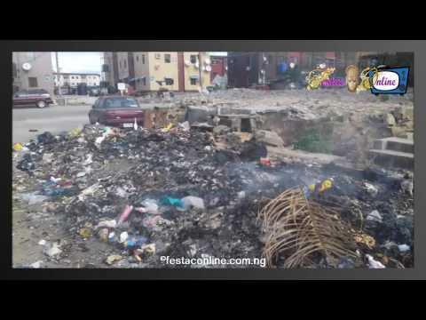 The Degrading State Of Jakande Estate , Mile 2 Amuwo Odofin