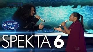 Video CHANDRA ft. MARIA - MENGEJAR MATAHARI (Ari Lasso) - Spekta Show Top 10 - Indonesian Idol 2018 download MP3, 3GP, MP4, WEBM, AVI, FLV Oktober 2018
