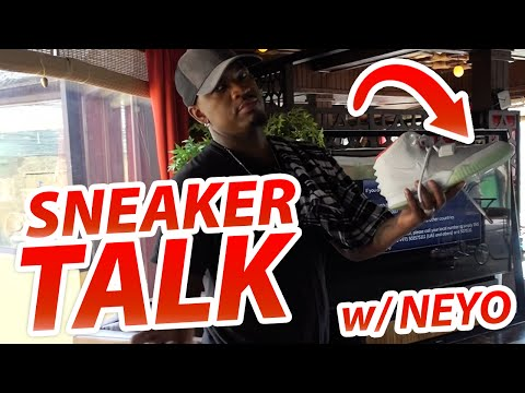 "Sneaker Talk with NEYO-  ""SO SICK"""