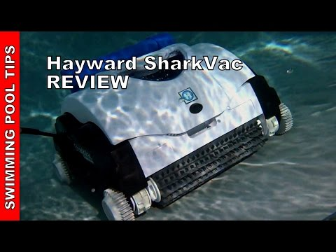 Hayward SharkVac Robotic Pool Cleaner - Review