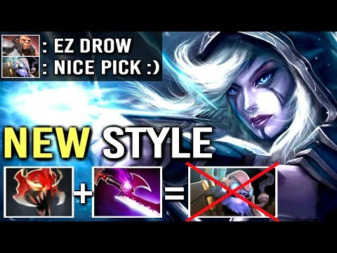 Epic Pro Madness Drow Ranger vs Hard Counter Tinker Axe Most Crazy Game Silver Edge Build WTF Dota 2