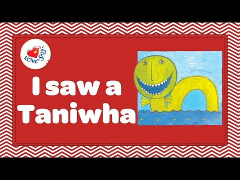 I Saw a Taniwha | Kids Maori Song | Children Love to Sing Kids Songs