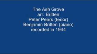 The Ash Grove_Britten_Pears