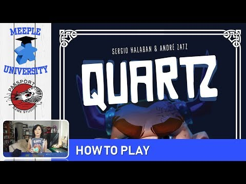 Quartz Board Game – Setup & How to Play in 7 Minutes