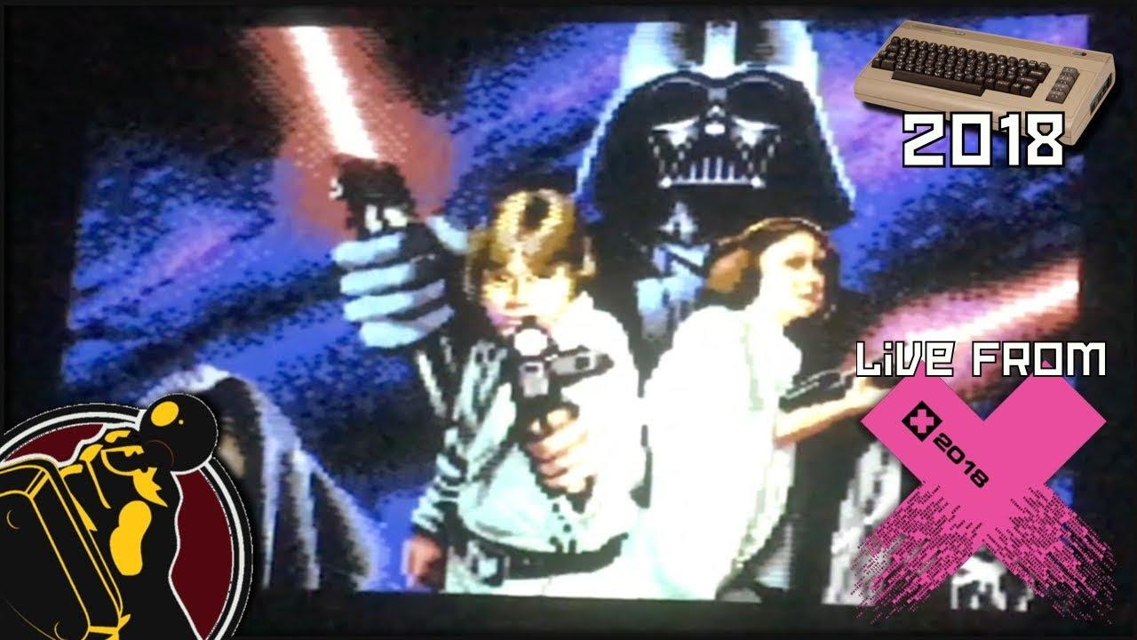 The Star Wars Demo / Censor Design (Commodore 64, 2018) | Live from X'2018  | 1  Platz