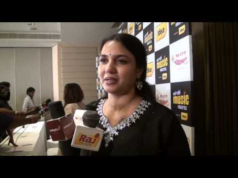 Actress Sukanya Speaks at 98.3Fm Radio Mirchi Music Awards