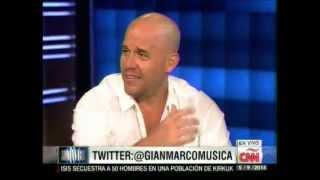 Gian Marco en el programa Showbiz de CNN - 2014