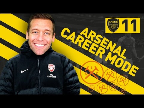 AM I TOO GOOD FOR ARSENAL??? - Arsenal Career Mode Ep. #11 (FIFA 17)