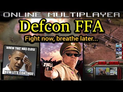 Defcon FFA - Infantry General - Pro Rules