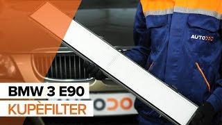 Hvordan bytte Kupèfilter på BMW 3 E90 BRUKSANVISNING | AUTODOC