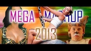 60+ Pop Tunes -- Mega Mashup 2013 Part II