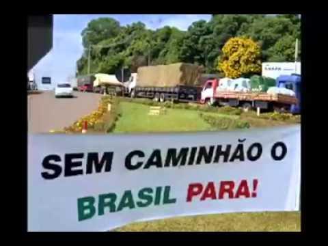 Resultado de imagem para sem caminhão o brasil para