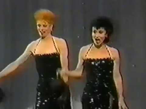 Chita Rivera and Juliet Prowse in SWEET CHARITY Medley, 'd by angry Dick Van Dyke