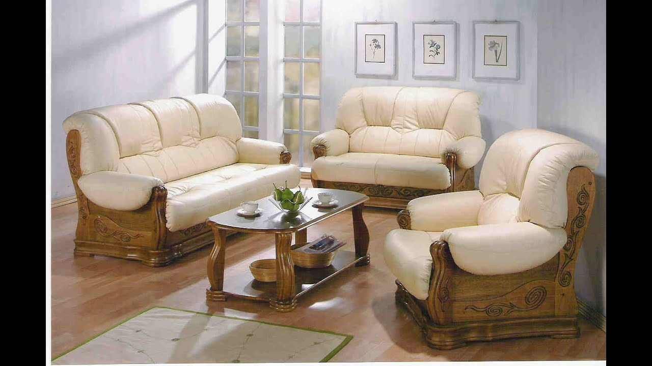 Sofa set youtube - Salon de luxe en cuir ...