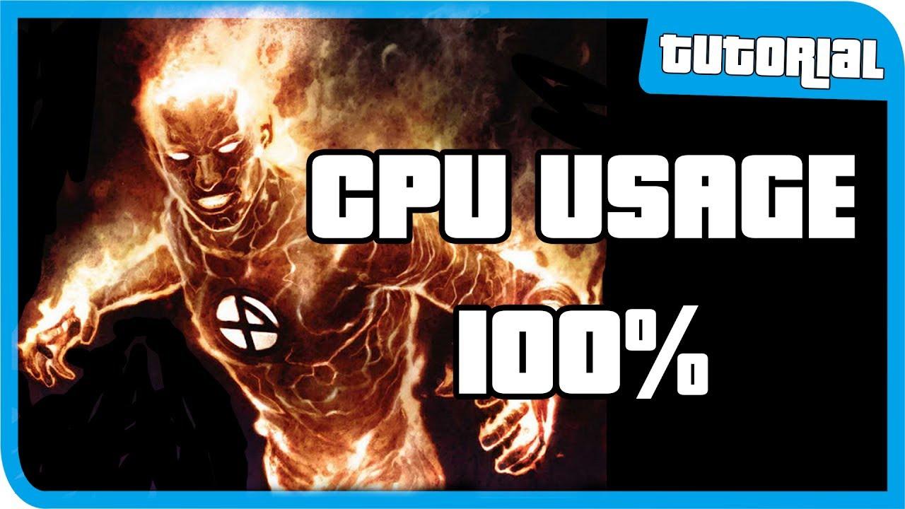 Cara Mengatasi Cpu Usage 100 Cara Mengatasi Laptop Lemot Part 1