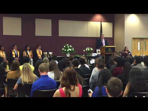 Phi Theta Kappa 2018 Spring Induction at Collin College