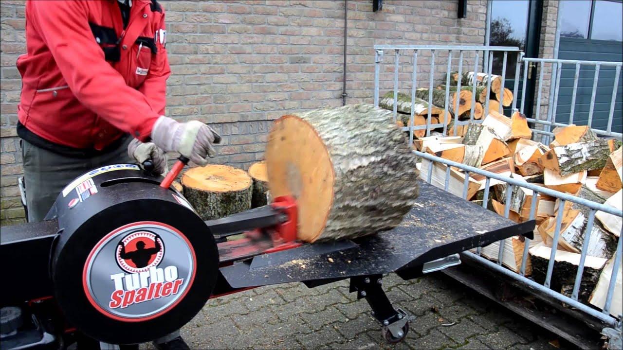 Außergewöhnlich Turbo Spalter Forst Live Messe 2013 Holzspalter - www.WEMATIK.de #MU_76