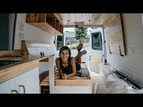 How we converted a SPRINTER into a CAMPERVAN in 30 days | The Wandering Wagners