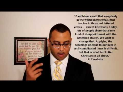 Red Letter Christians Biblical or Bible Apostasy