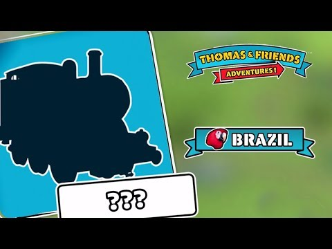 Who's The Secret Engine From Brazil ? - Thomas & Friends: Adventures!
