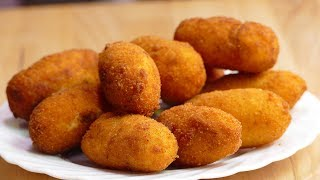Chicken croquettes PERFECT: Make them yourself