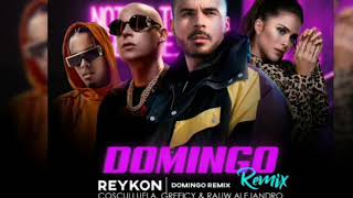 Reykon Domingo  Ft Cosculluela, Greeicy & Rauw Alegandro