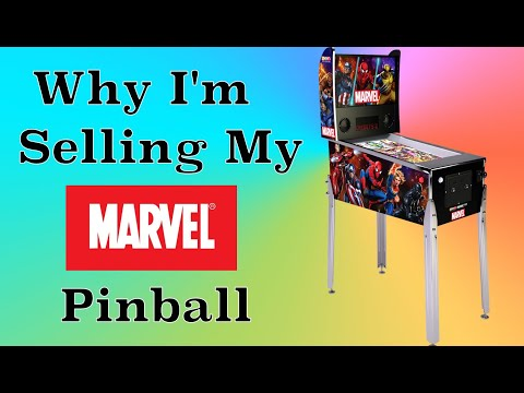 Why I'm Selling My Marvel Pinball? | Real Talk from Original Console Gamer