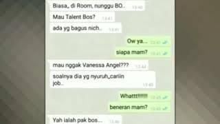 #viral #terending1 video chat vanessa engel dengan clieannya