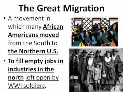 GPS SSUSH 15b Great Migration, Espionage Act, Eugene Debs [Video 79]