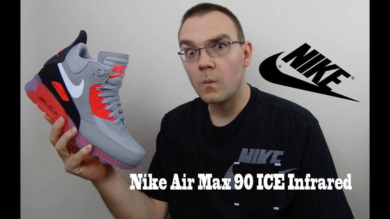 san francisco 802b4 f964f Nike Air Max 90 SneakerBoot Ice Infrared Review