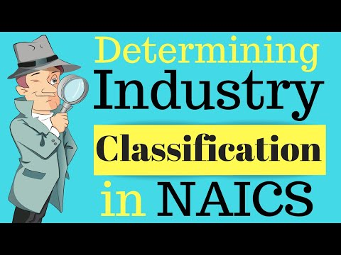 Determining Industry Classification of the Establishment | Class Codes
