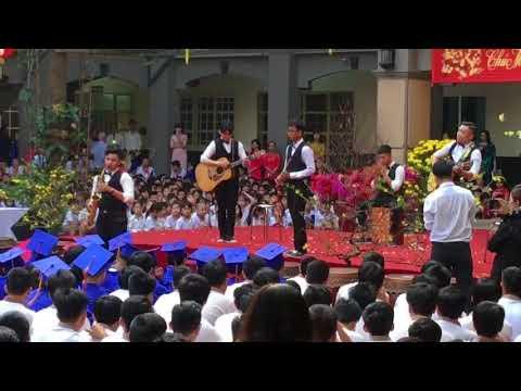 Trường Bùi Thị Xuân đón xuân 2018