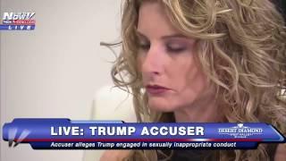Donald Trump Accuser Press Conference - Gloria Allred Files LAWSUIT on Behalf of Summer Zervos