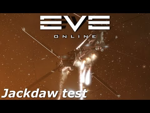 EVE Online  Jackdaw exploration test