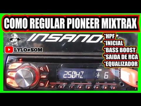 Regulando Radio Pioneer Mixtrax Simples E Facil Como Regular Frequência Hpf Saida De Rca  - Confiram