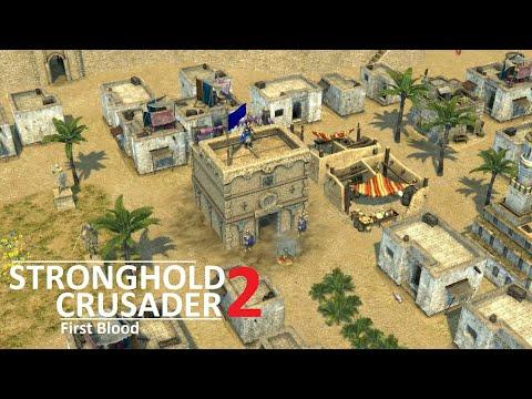 STRONGHOLD CRUSADER 2 (Lionheart first blood) |