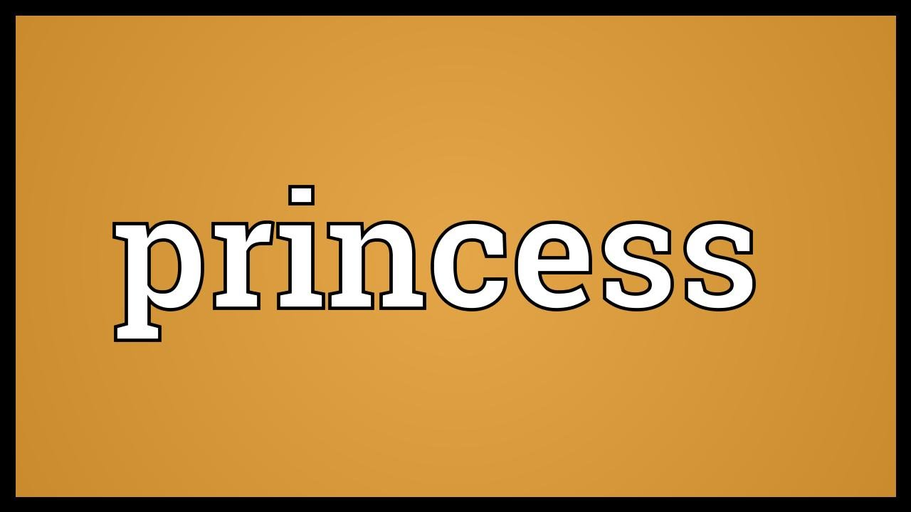 Princess Meaning