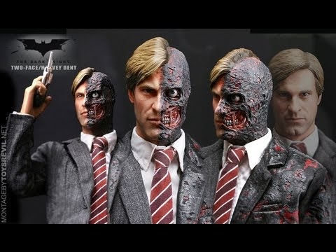Hot Toys Two Face Review 79