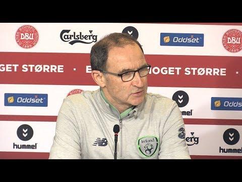 Denmark 0-0 Ireland - Martin O'Neill Full Post Match Press Conference - World Cup Qualifier