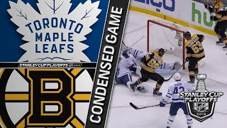 04/25/18 First Round, Gm7: Maple Leafs @ Bruins