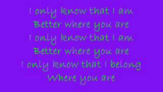 A Fine Frenzy - Near To You Lyrics