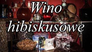 Składniki na 40l wina hibiskusowego: - 1kg hibiskusa - 2kg rodzynek...