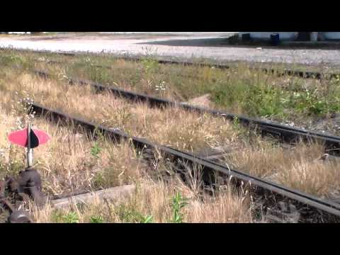 Horrible Tracks of the Maumee and Western Railroad in Defiance Ohio on 9/29/12