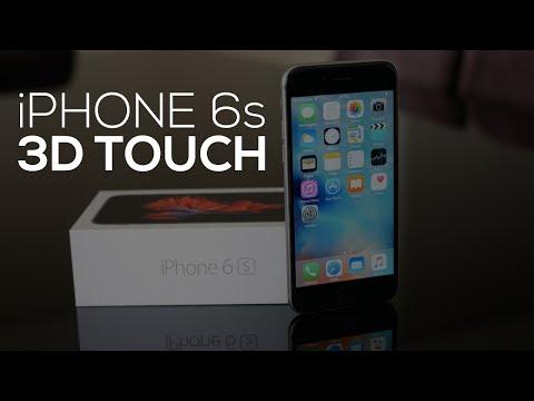 iPHONE 6s: O QUE É O 3D TOUCH