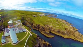 Our Vacations Flying drones and RC airplanes in Donegal Ireland